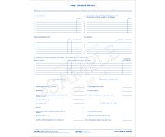 Daily Census Report Form