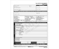 Volunteer Care Plan Form