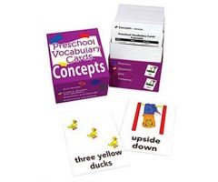 Preschool Vocabulary Cards: Concepts