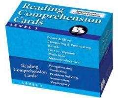 Reading Comprehension Cards Level 1