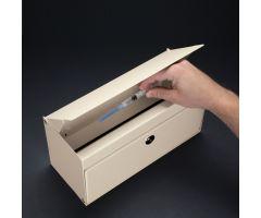 Lockable Return Drop Box w/ Key Lock