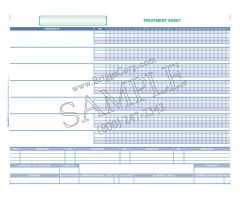 Accu-Care Clinical Software Treatment Sheet Form