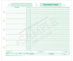QuickCare Software Treatment Sheet Laser Form