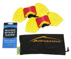 AQUAFINS Aquatic Exercise Kit (Mesh Bag)