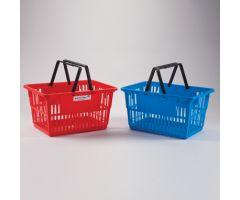 Tote Basket, Large, 19x10x13 - Blue