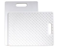Black Cutting Board/White Cutting Board Combo