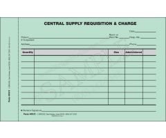 Central Supply Requisition and Charge Form