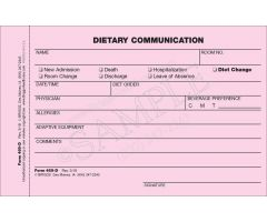 Dietary Communication