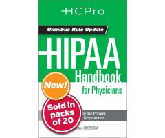 HIPAA Handbook for Nursing & Clinical Staff4714