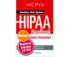 HIPAA Handbook for Nursing & Clinical Staff4717
