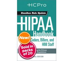HIPAA Handbook for Nursing & Clinical Staff4718