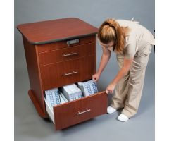 Punch Card Cart with Keyless Entry Digital Lock  -  5079CB