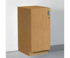 Base Cabinet with Locking Door, 18 Inch - 5093EBL