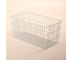 "Basket For Folding Wire Cart w/ 6"" and 12"" Baskets, 12 Inch"