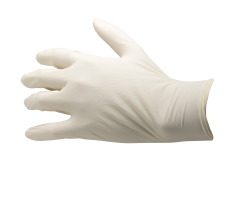 SkinShield Textured Powder Free Latex Gloves-5836LPFSM BX