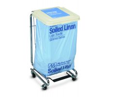 Medical Action Premier Step-On Covered Hamper Stands, Soiled Linen