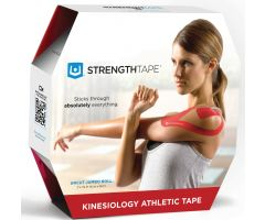 STRENGTHTAPE  Kinesiology Tape (35m Uncut Roll, Red)