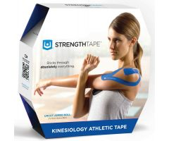 STRENGTHTAPE  Kinesiology Tape (35m Uncut Roll, Royal Blue)