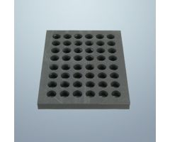 "Foam Sealing Tray for Class A 3/8"" Shallow Round Blisters"