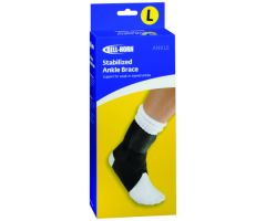 Ankle Brace Bell Horn Large Closure Left or Right Foot