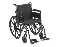 Lightweight Wheelchair drive Cruiser III Dual Axle Full Length Arm-700953