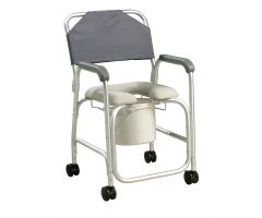 Aluminum Shower Chair/Commode