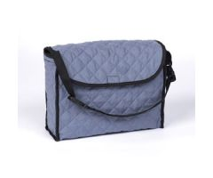 Ableware Cotton Tote Bag for Walkers & Wheelchairs-Blue/Gray