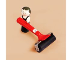 Roller For Sealing Labels - 4 Inch