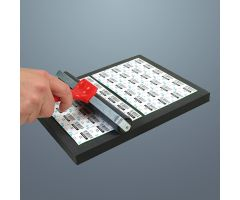 Roller For Sealing Labels - 8 Inch Wide