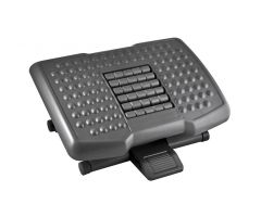 Premium Adjustable Footrest with Rollers
