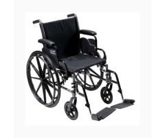 Lightweight Wheelchair Cruiser III Dual Axle Desk Length Arm Flip Back-718985
