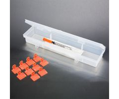 Tamper-Evident Syringe Case with Security Seals