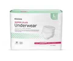 Unisex Adult Absorbent Underwear McKesson Super 724914CS