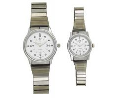 Ladies' Montiel Braille Watch Silver face
