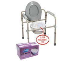 Carebag Commode Pail Liners (20/Box)