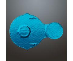 Foil Tamper-Indicating Vial Seals for 20mm Tops - Blue