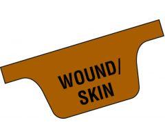 Chart Divider Tab - Wound/Skin - Tyvek - Side