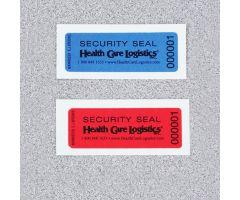 Self-Adhesive Tamper-Indicating Seals, No Residue - Blue
