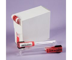 Self-Adhesive Test Tube Seals - Red