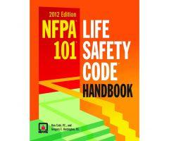 NFPA 101: Life Safety Code, Hardbound Handbook, 2012 Edition 8121-12