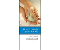 Patient Education Brochure - How to Wash Your Hands