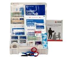 First Aid Kit First Aid Only 10 Person Waterproof Case