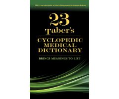 Taber's Cyclopedic Medical Dictionary, 23rd Edition
