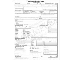 Resident Transfer form 886/3