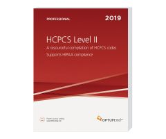 2019 HCPCS Level II Professional (Softbound) - Optum360