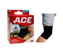 "3M ACE Elasto-Preene Knee Brace, Large/XL (16""""to 20""), Black"