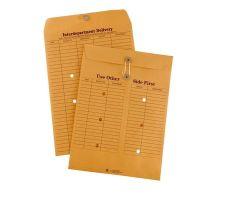 Interdepartment Envelopes 10 in x 13 in Brown 100/Bx