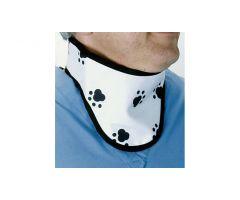 Paw Print Thyroid Shield