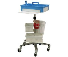 Phlebotomy Workstation Cart and Accessories