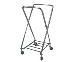 Medline Rectangular Adjustable Hamper Stand